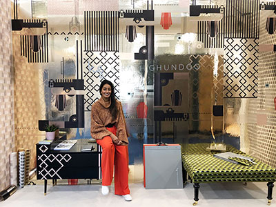 Kirath pictured at Decorex . Link to View the pictures.
