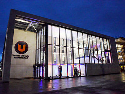 Teesside University Business School . Link to View the pictures.