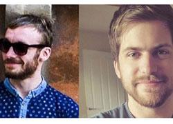 Ryan Harrison and Adam Turnbull