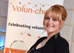 Award winner Kylie Allen