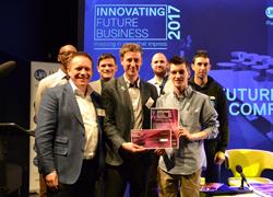 Teesside University student Charlie Hesse has founded the award-winning app Health+.