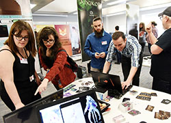 ExpoTees, the School of Computing's annual student showcase, is used by many major employers to recruit graduate talent.