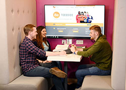 A record number of students have voted Teesside University as a great place to learn in the National Student Survey