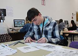 BA (Hons) Graphic Design and Illustration student Jonathan Raiseborough