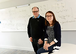 Zhibek Kadyrsizova, Assistant Professor at Nazarbayev University, Astana, Kazakhstan, and Sven-Ake Wegner, Senior Lecturer in Mathematics at Teesside University.