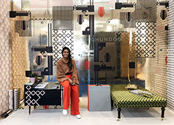 Kirath pictured at Decorex