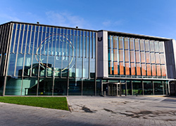 The award-winning Student Life Building at Teesside University