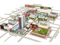 3D Campus Map