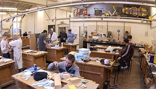 Industrial design workshops