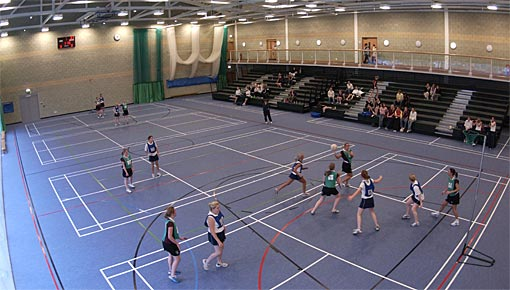 Sports hall in the Olympia Building