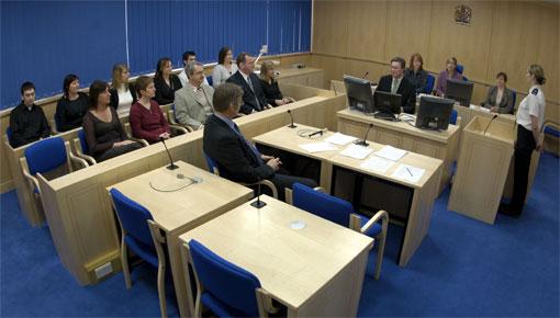 Mock Courtroom