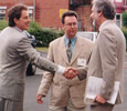 1996: Prime Minister Tony Blair visits the campus in the very early days of his leadership.