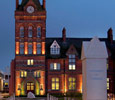 2004: The Grade II listed Waterhouse Building is a landmark at the University – designed by the office of the Victorian architect, Alfred Waterhouse