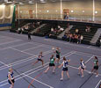 Link to Sports hall in the Olympia Building.