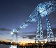 The Transporter Bridge . Link to .