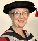 Thelma Barlow, Doctor of Letters