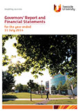 Image of front cover of Governors' Report and Financial Statements