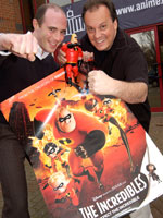 Former Animex speakers Mark Walsh and Rob Russ who worked on The Incredibles