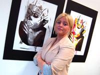Teesside University BA (Hons) Fine Art student Joanne Adams