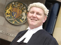 Barrister and Teesside graduate Andrew Scott.