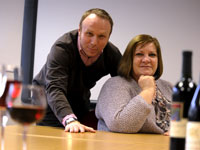 Professor Janet Shucksmith, Director of the Health and Social Care Institute with Dr Paul Crawshaw, Director of the Social Futures Institute at Teesside University.