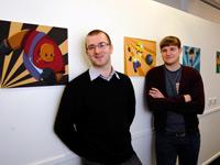 Anthony Roderick and Martin Coates of Rubix Studios.