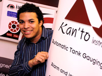 Liam Russell spent his placement at Kan'to Instruments.