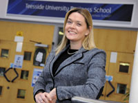 Sue Smith, Assistant Dean of Teesside University Business School.
