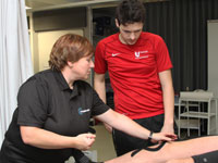Kinesio Taping at Teesside University.. Link to View the pictures.