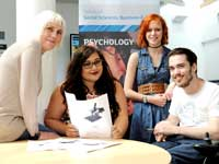 Dr Sue Becker, Holly Shahverdi, Nadine Spence, Luke Kennedy.. Link to View the pictures.