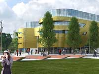 The £20m teaching facility The Curve is set to further enhance the student experience at Teesside.