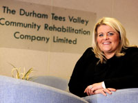 Link to Lisa turns the tide to a new career through study at Teesside.