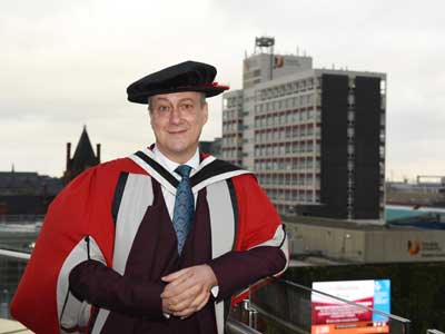 Dr Stephen Tompkinson.. Link to Renowned actor returns to Teesside to launch annual University event.