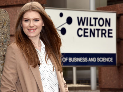 Megan Todd . Link to National recognition for Teesside chemistry student.