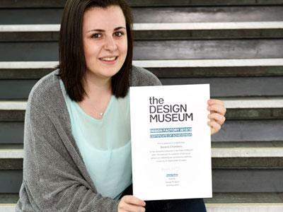 Link to Recognition for student's design idea for safe sanitation.