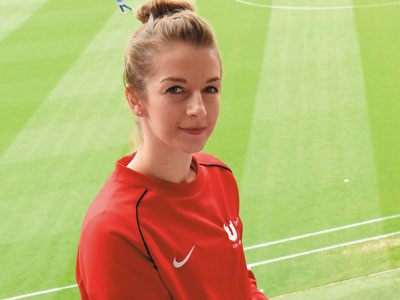 Karina Le Fevre. Link to Karina raising the bar to combine study with sporting career.