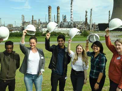 Students on the Engineering Summer School.. Link to Engineering students get a glimpse into the future.