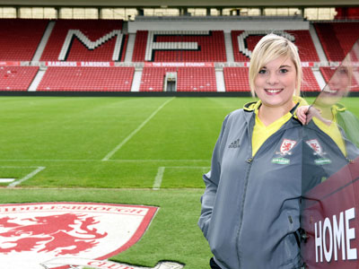 Kirsty Gibbon . Link to Graduate's goal in securing sporting success.