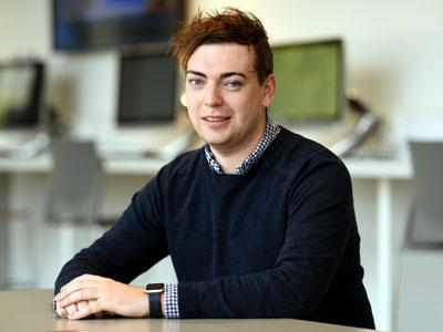 Sam Piggott. Link to Sam progresses from graduate intern to teaching career.