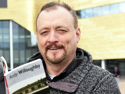 Andy Willoughby . Link to Teesside's steel heritage to be celebrated.