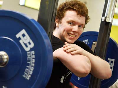 Andrew Richardson.. Link to Powerlifter given financial boost.