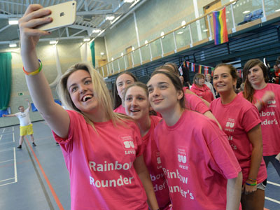 Link to Awareness raising Rainbow Rounders event at Teesside.