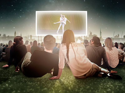 Link to Ballet on the big screen.