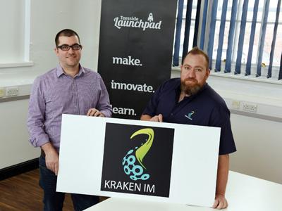Geoff and Ian Cornwell of Kraken IM. Link to Geoff and Ian Cornwell of Kraken IM.