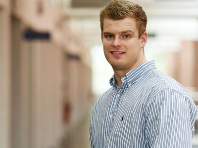 Loukas Lowe. Link to Degree studies help Loukas to engineer career path.
