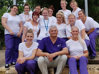 Link to Nursing students share their expertise during Cambodia trip.