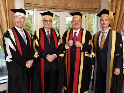 Professor Paul Croney, Lord Sawyer of Darlington, Paul Drechsler CBE and Alastair MacColl.. Link to Professor Paul Croney, Lord Sawyer of Darlington, Paul Drechsler CBE and Alastair MacColl..