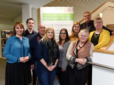 Neuro Key event at Teesside University.. Link to Partnership to improve the care of people with neurological conditions.
