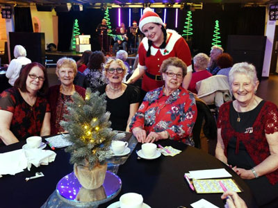 Link to Teesside University staff and students bring festive joy.