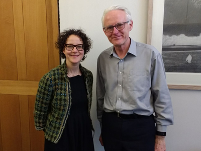 Dr Amelia Lake with MP Norman Lamb.. Link to Dr Amelia Lake with MP Norman Lamb..